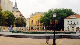 הכיכר המרכזית של העיר (צילום: שי זדה)