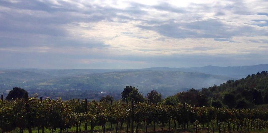 העיירה טופולה מסתתרת בין ההרים (צילום: שי זדה)