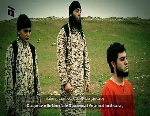 ISIS video showing execution of alleged spy