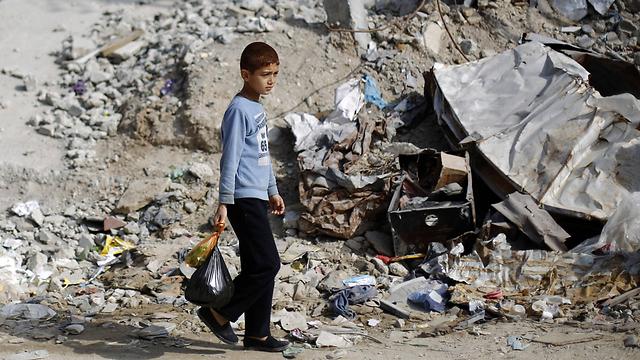 Destruction in Gaza. (Photo: AFP)