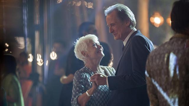 """ג'ודי דנץ' וביל ניי ב""""מלון מריגולד האקזוטי השני"""" ()"""