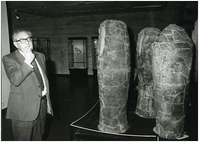 הנרי קיסינג'ר במוזיאון, 1986 (  )