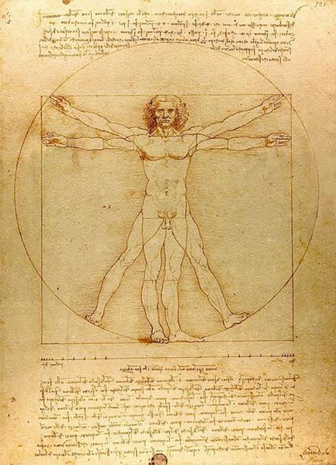 נותרו בעיקר כתבי יד, סקיצות ורישומים. דה וינצ'י  ()