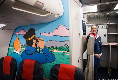 (צילום: Brussels Airlines)