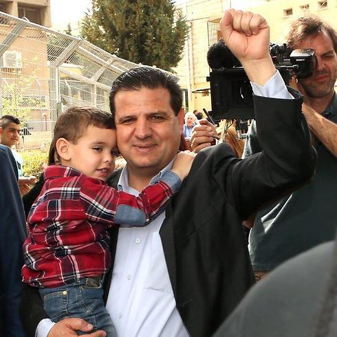Head of United Arab List Ayman Odeh (Photo: Elad Gershgoren)