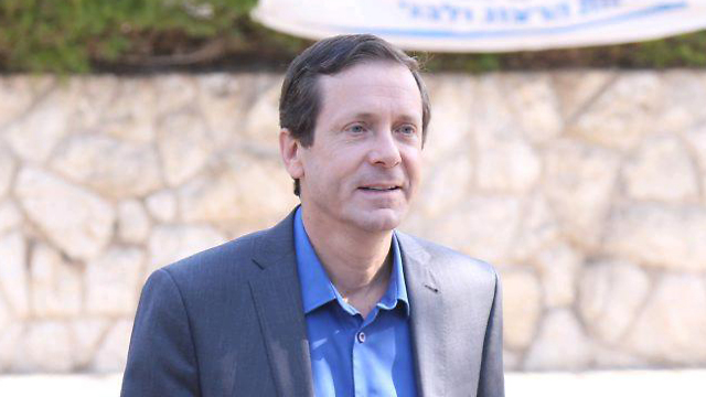 Perhaps without knowing, Herzog has already begun his campaign for the next elections. In the meantime, he is doing a very bad job (Photo: Motti Kimchi)
