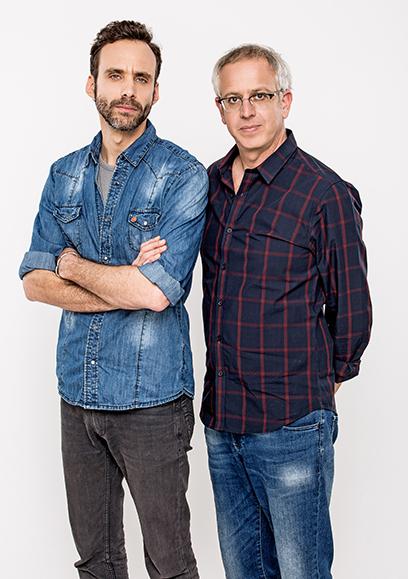 ירון ברובינסקי ואורי גוטליב (צילום: אוהד רומנו)