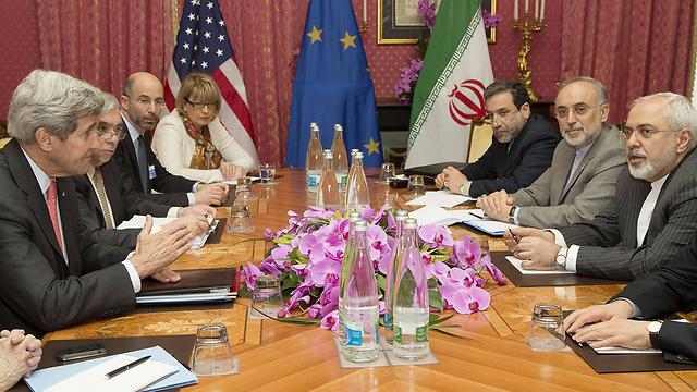 US-Iran nuclear talks (Photo: AFP) (Photo: AFP)