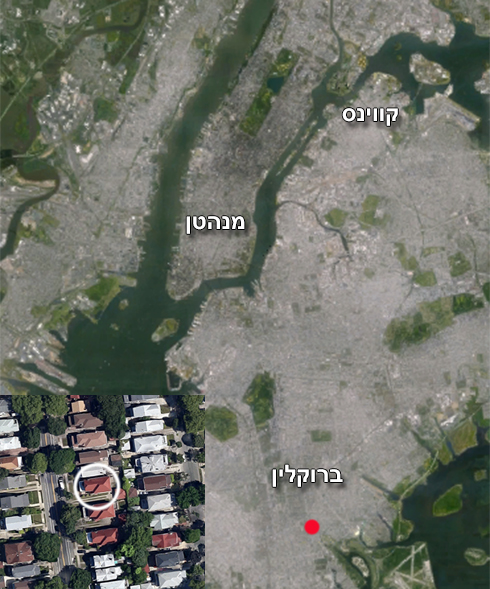 מקום האסון  (צילום: google maps) (צילום: google maps)