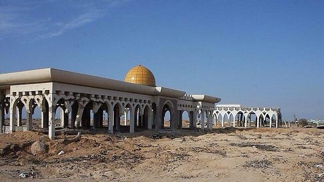 Yasser Arafat International Airport in Dahaniya
