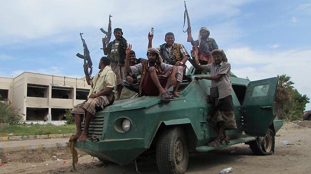 Forces loyal to President Hadi. (Photo: Associated Press)