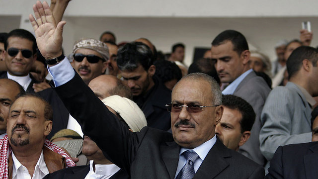 עלי עבדאללה סלאח (צילום: AFP) (צילום: AFP)