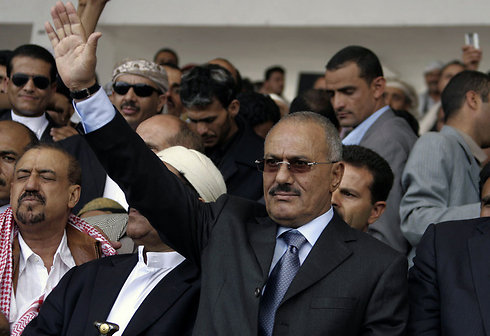 Ali Abdullah Saleh (Photo: AFP)