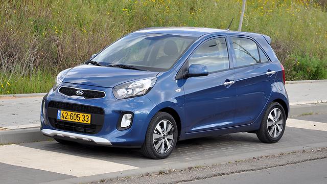 המכונית הנמכרת ביותר בישראל ב-2015: קיה פיקנטו (צילום: רועי צוקרמן) (צילום: רועי צוקרמן)