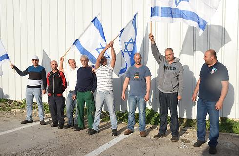 אוהדים ערבים של נבחרת ישראל. מה הדין לגבי עבודה בחג עבור עובדים שאינם יהודים? (צילום: אביהו שפירא) (צילום: אביהו שפירא)
