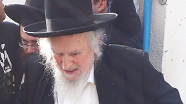 """מנהיג הפלג הירושלמי הרב שמואל אוירבך (צילום: אחיה ראב""""ד) (צילום: אחיה ראב"""