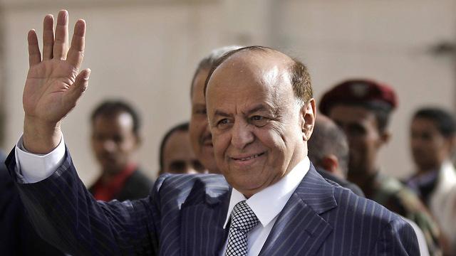 הנשיא התימני הנמלט (צילום: AP) (צילום: AP)