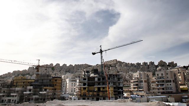 Construction in East Jerusalem (Photo: AFP)