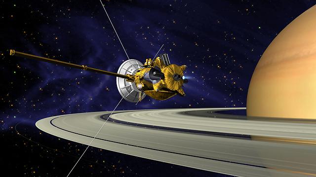 החללית קאסיני שנעה סביב שבתאי  (צילום: NASA/JPL/Caltech) (צילום: NASA/JPL/Caltech)