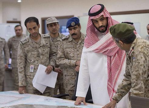 """שר ההגנה הסעודית בחמ""""ל המבצע של מדינות המפרץ ()"""