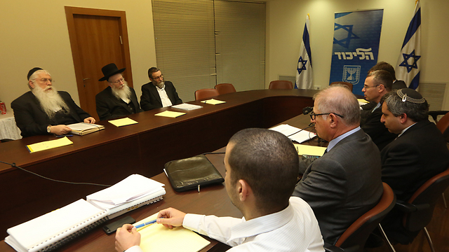 United Torah Judaism in coalition talks (Gil Yohanan/File)