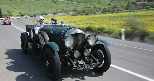 בנטלי 4.5 Litre, מודל 1928 (רונן טופלברג) (רונן טופלברג)