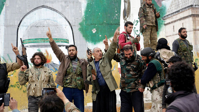 Syrian rebels in Idlib (Photo: Reuters)