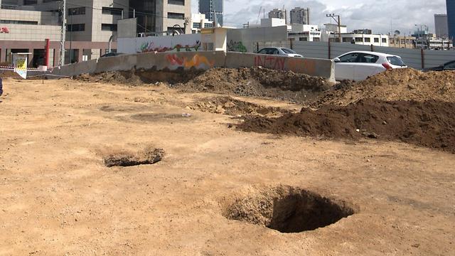 Excavations in Tel Aviv (Photo: IAA)