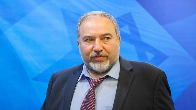 Yisrael Beytenu leader Avigdor Lieberman (Photo: Amil Salman) (Photo: Amil Salman)