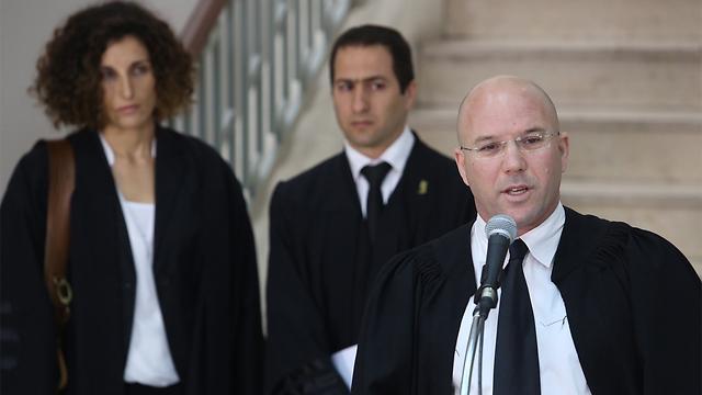 Prosecutor Uri Korev welcomes the verdict (Photo: Gil Yohanan)