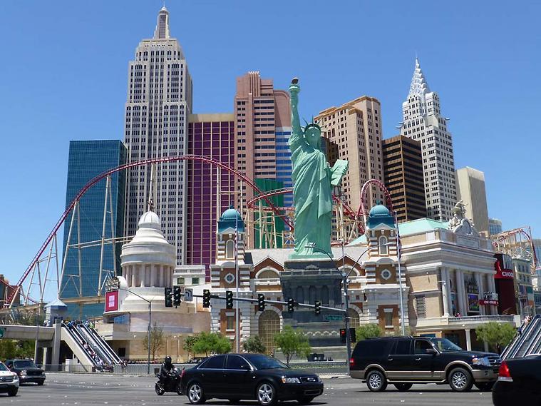מלון בסגנון ניו יורק. לאס וגאס (צילום: סיגלית בר)