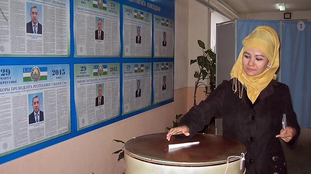 בבחירות הבאות אוזבקיסטן תבחר נשיא אחר (צילום: AFP) (צילום: AFP)