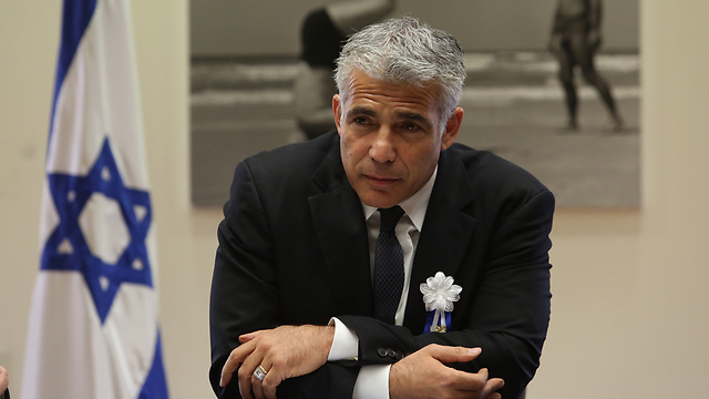 Yesh Atid chief Yair Lapid (Photo: GIl Yohanan) (Photo: Gil Yochanon)