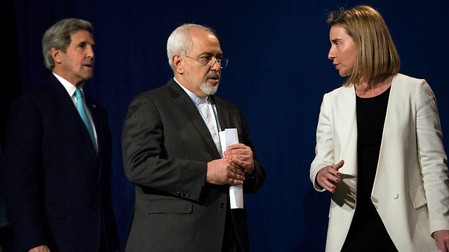 Nuclear talks in Lausanne. Iran's pragmatism convinced the US that Iran is not an 'insane country' like the Islamic caliphates (Photo: Reuters)