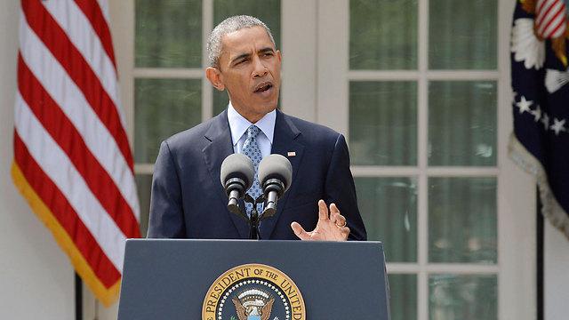 אין לישראל תחליף לסיוע הביטחוני והמדיני האמריקני. אובמה (צילום: רויטרס) (צילום: רויטרס)
