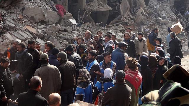 Yarmouk camp, Syria (Photo: EPA)