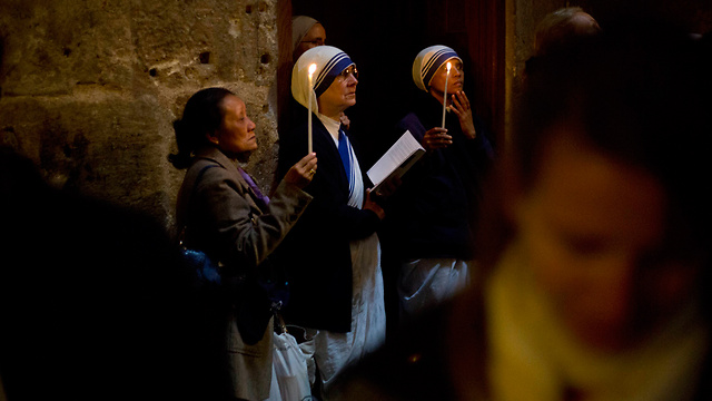 כנסיית הקבר, ירושלים (צילום: AP)