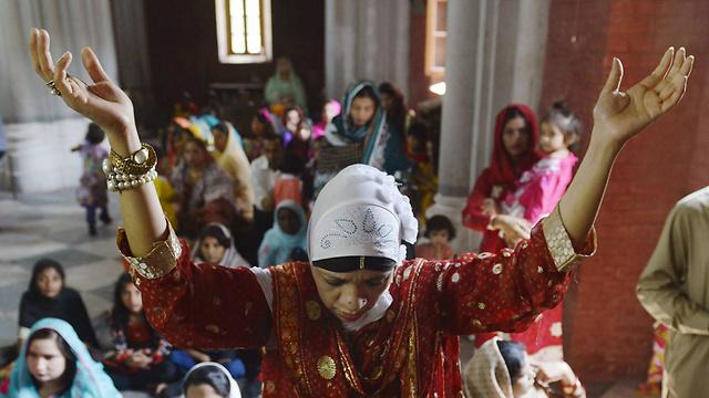 לאהור, פקיסטן (צילום: AFP)