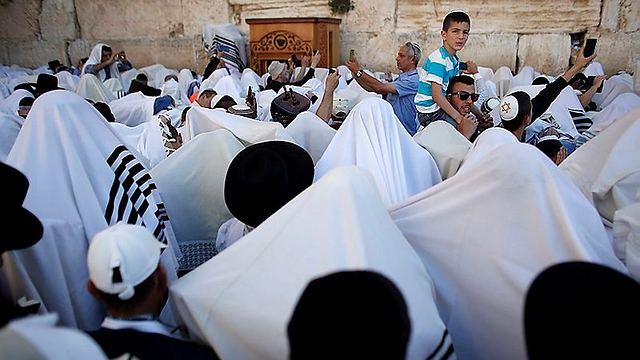 Thousands of worshippers (Photo: AFP) (Photo: AFP)