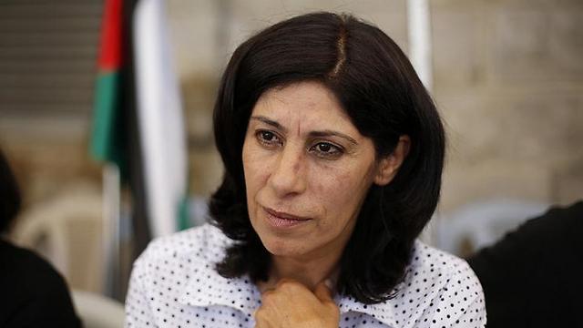PFLP lawmaker Khalida Jarrar. Flouted ban on entering Ramallah, where she lives. (Photo: Reuters) (Photo: Reuters)