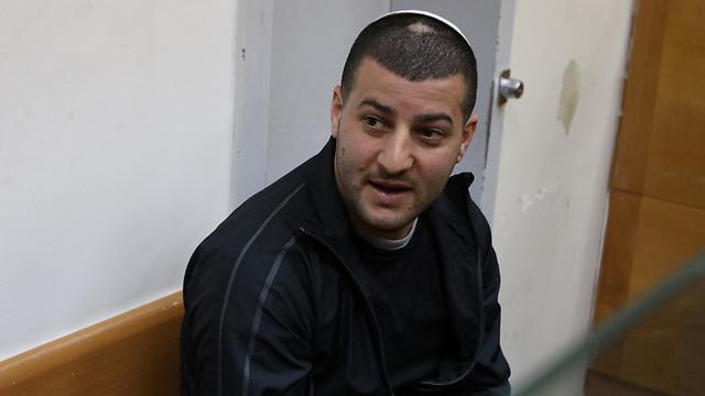 אחד החשודים מאור כהן (צילום: אבי מועלם ) (צילום: אבי מועלם )