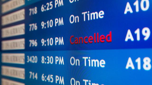 הטיסה בוטלה. מה אומר החוק? (צילום: AP)