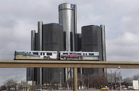 מטה GM בדטרויט. מספר ההרוגים עלה ל-80 (צילום: רויטרס) (צילום: רויטרס)