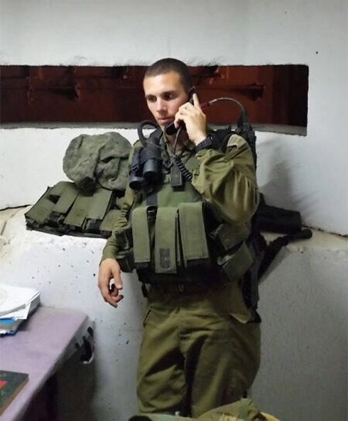 Captain Shir Klevner back in duty. (Photo: IDF Spokesman's Unit)