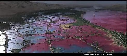 """""""באגדות מספרים שמלבד הנילוס, גם ההינדוס נצבע באדום, הים התיכון, ולמעשה כל מקורות המים בכל מיני תרבויות מרוחקות ולא קשורות נצבעו באדום בתקופה ההיא"""" (צילום: אורות)"""