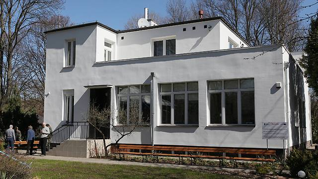 The villa on the grounds of the Warsaw Zoo where dozens of Jews were sheltered during World War II (Photo: AP)