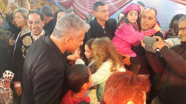 Lapid at celebrations in Rehovot