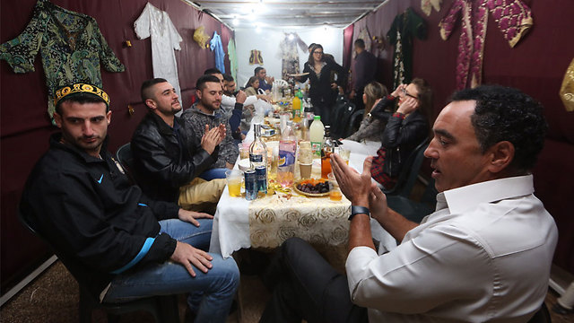 Celebrations at Beit Shemesh (Photo: Gil Yohanan) (Photo: Gil Yohanan)
