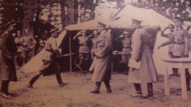 The photo Perel took of Hitler