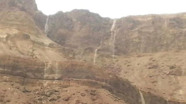 הרי ישי ליד ים המלח, אתמול (צילום:  זיו סיני) (צילום:  זיו סיני)